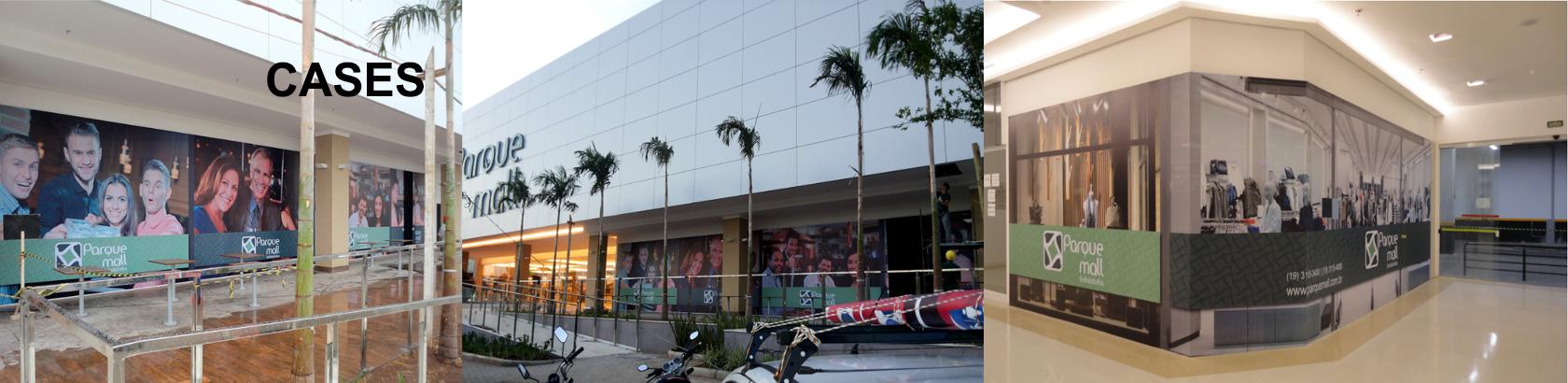 Produção e Instalação de Adesivos e Lonas Para Tapumes em Lojas e Shoppings