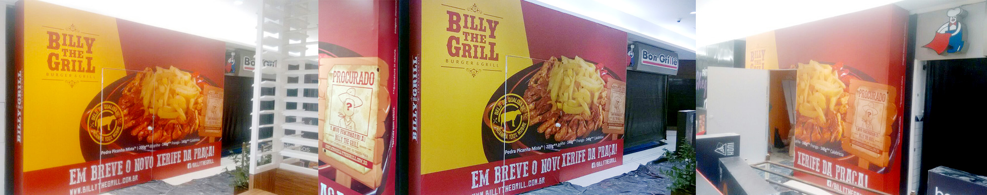 Tapume Billy The Grill
