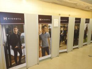 Eldorado Portas de Banheiro Adesivadas, mais de 95 portas de banheiros no Shopping Eldorado