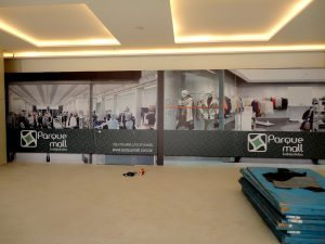 Tapumes Naval Lonado Mall Indaiatuba
