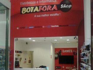 Adesivagem de Paredes Botafora Shopping Boulevard Tatuapé
