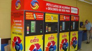 Estações de Reciclagem Adesivadas Extra São Paulo