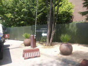 Tapume de Obra Lonado Externo Para o Shopping Cidade Jardim