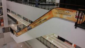 Escada Rolante Adesivada Shopping Praça da Moça