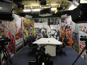 Produção e Instalação Cenários Para TV em Painéis de Alumínio Articulados Para TV Aberta