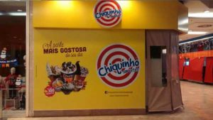 Papel de Parede Shopping D, Chiquinho Sorvetes